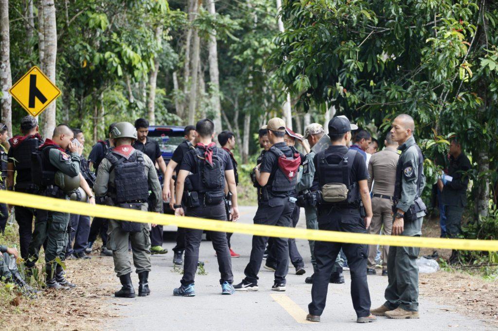 Armée policiers Thaïlande