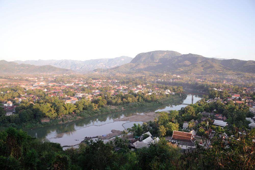 Fleuve Luang Prabang