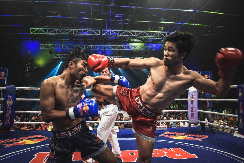 combats de muay thai au lumpini stadium