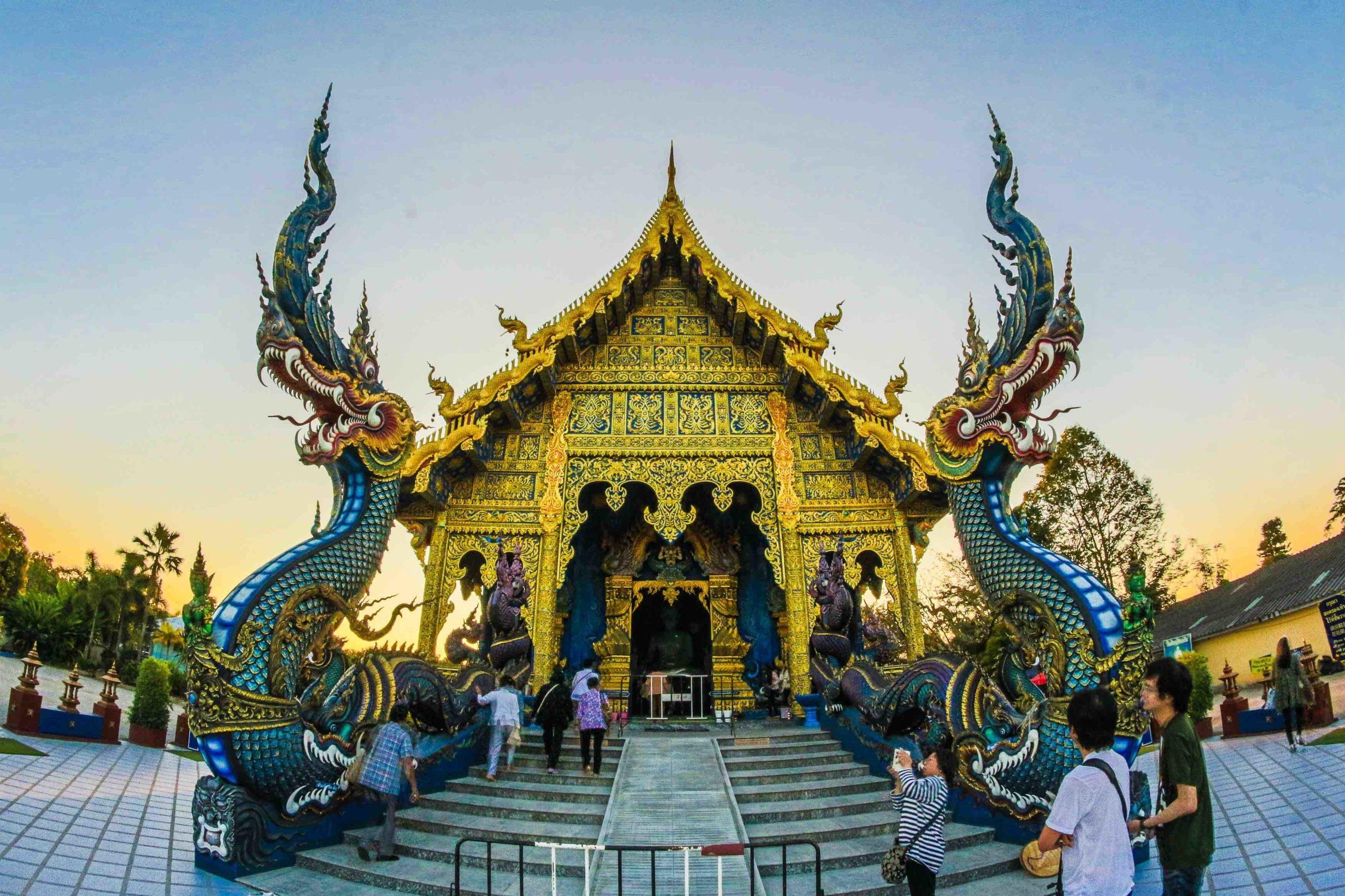 temple thai majestueux
