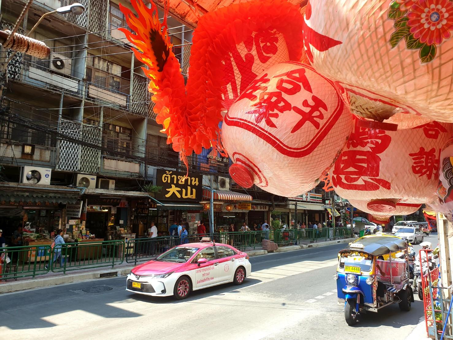Le Chinatown de Bangkok