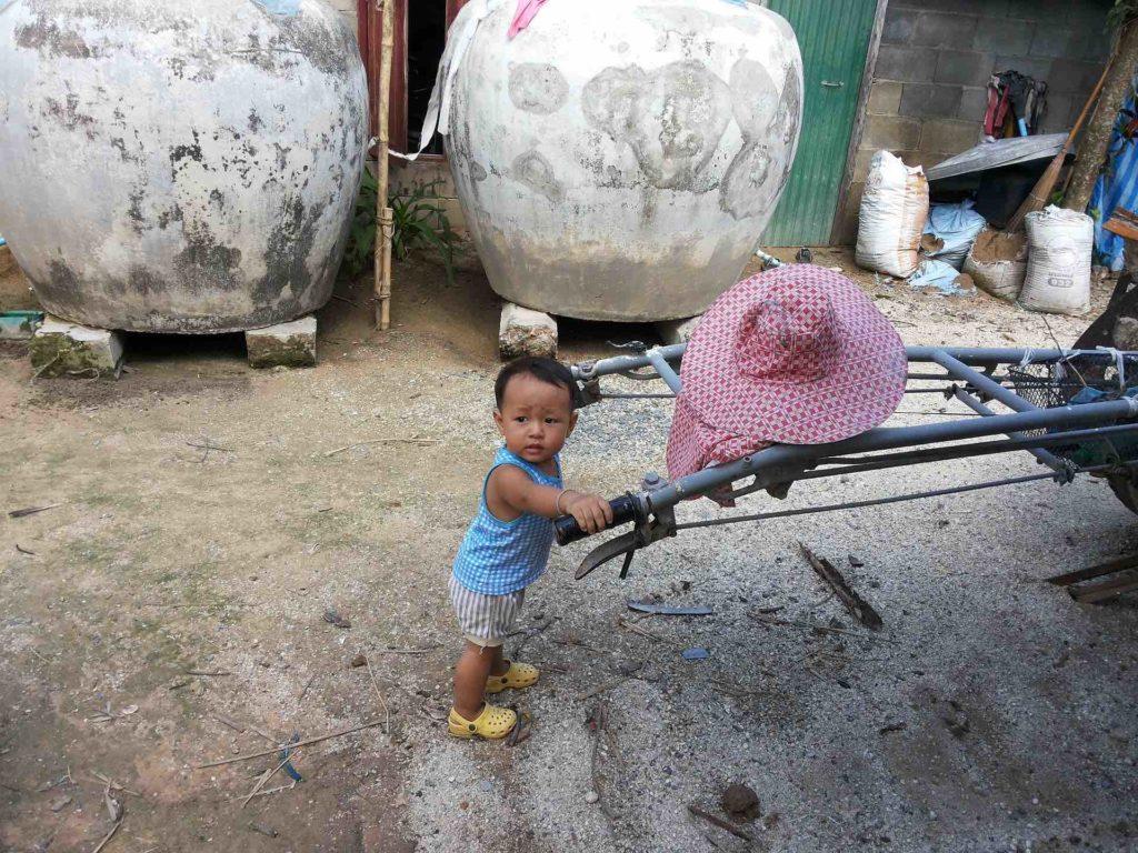 Les enfantsen thailande