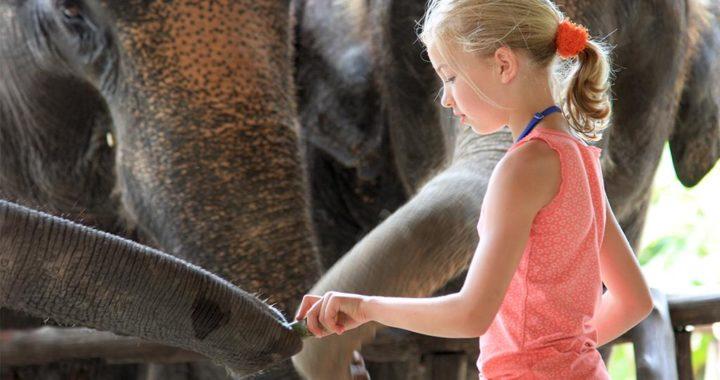 Voyager avec des enfants en Thaïlande