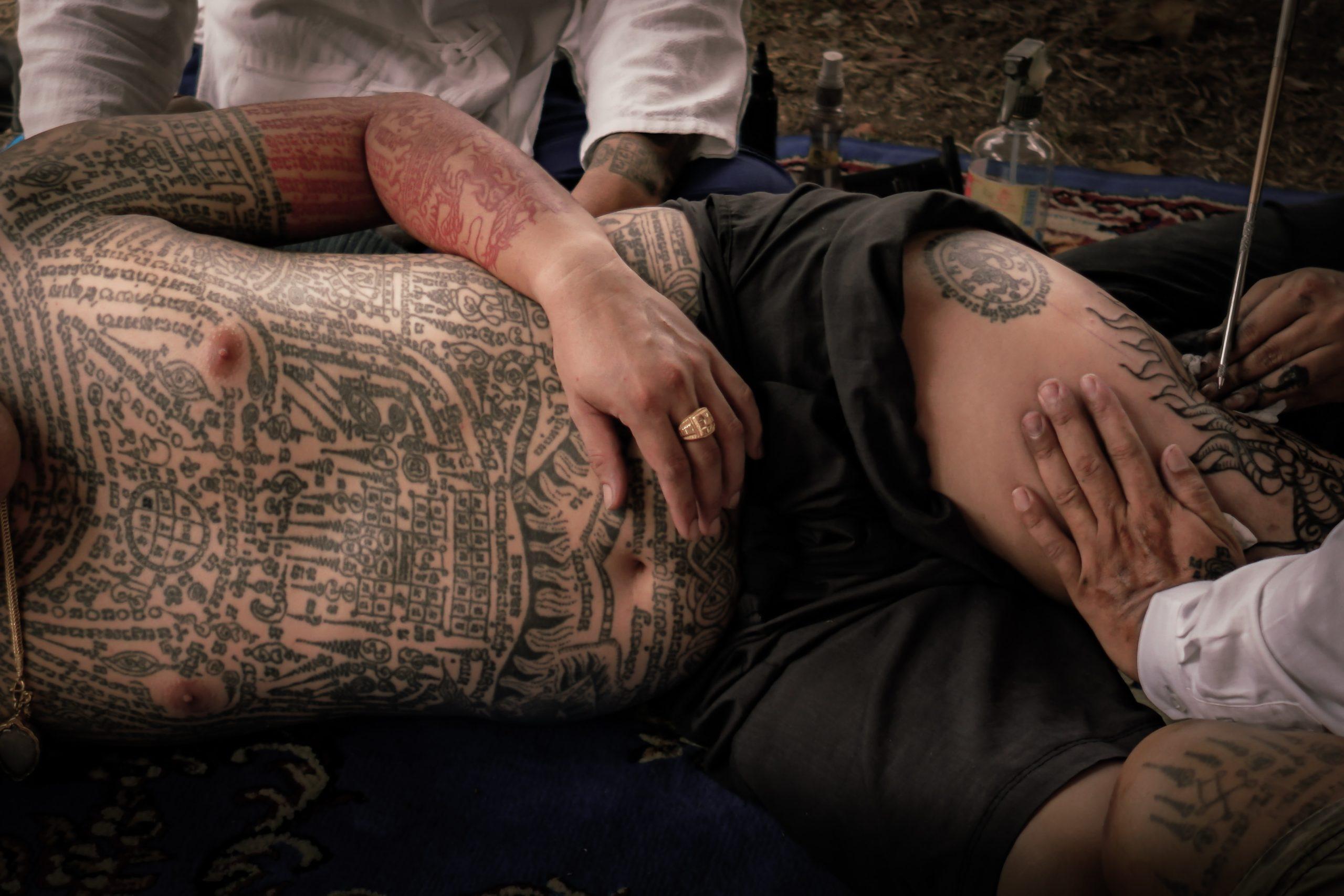 tatouage thai