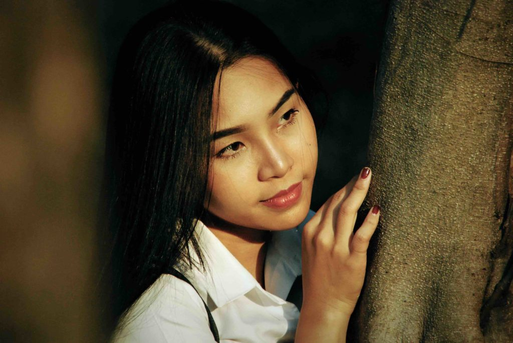 Jeune femme thailandaise