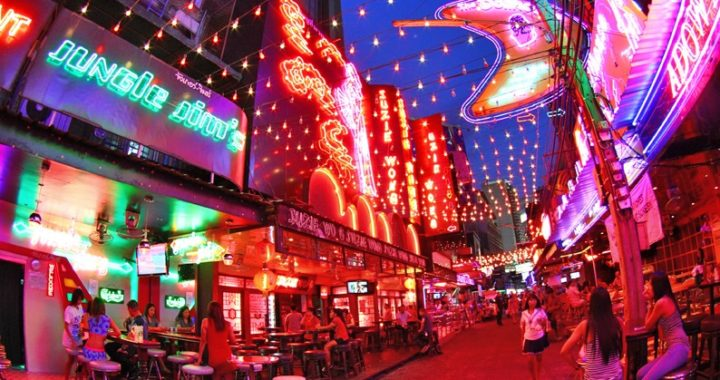 "Les ""Red Light Districts"" de Bangkok"