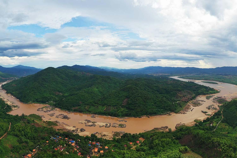 Mekong cambodge eau boueuse
