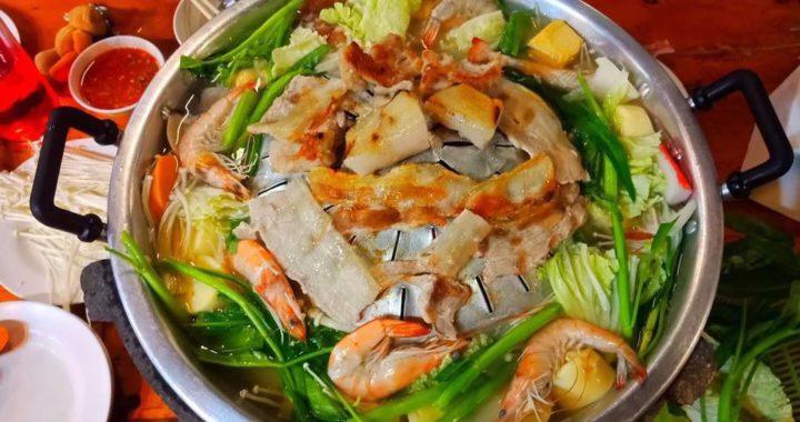 Le mookata et le barbecue thaïlandais