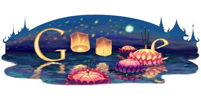Les Doodle de Google rendent hommage aux célébrités thaïlandaises