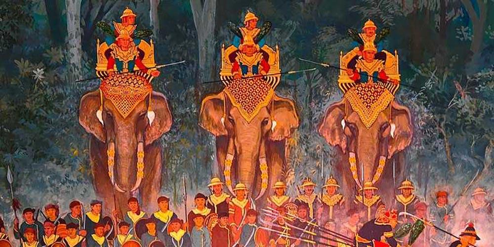 L'évolution de l'art en Thaïlande