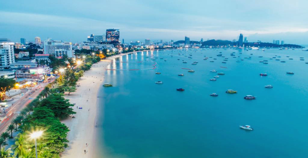 La rénovation de la plage de Pattaya devrait débuter d'ici la fin de l'année