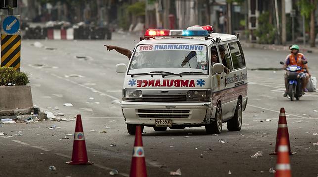 les urgences - ambulance