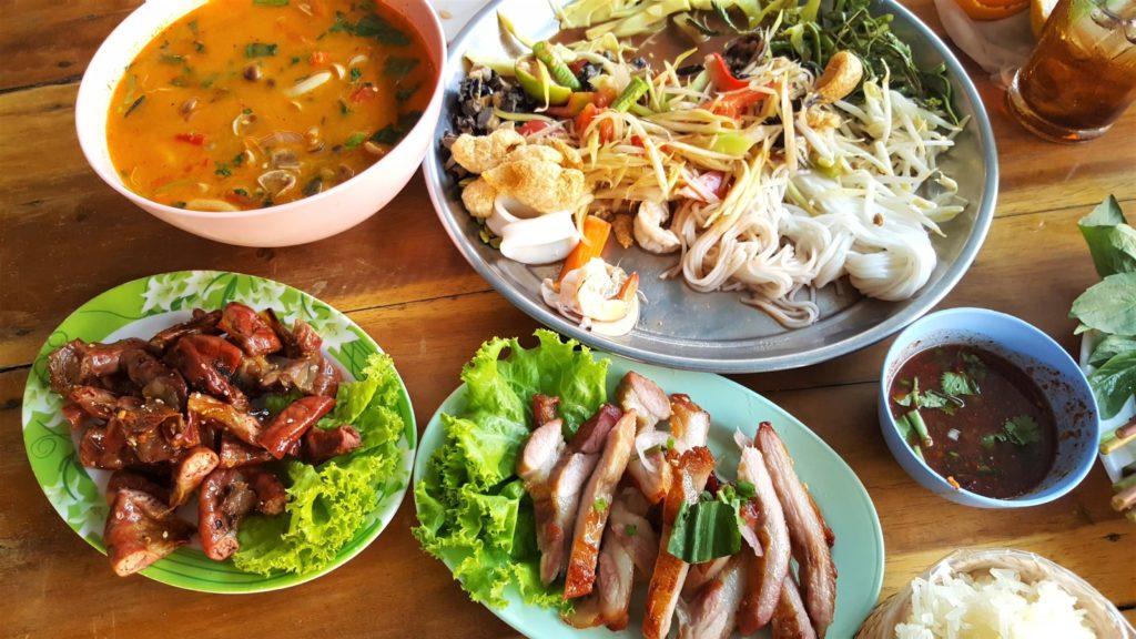 nourriture du Nord ou Sud